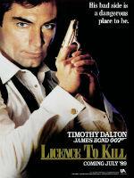 Licence to Kill, editorial content, 007, James Bond, spy movie podcasts, EON Production movies, espionage, Timothy Dalton