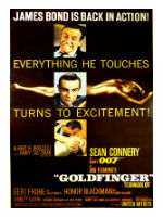 Goldfinger, editorial content, 007, James Bond, spy movie podcasts, EON Production movies, espionage, Sean Connery