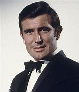 George Lazenby wearing a tux - headshot